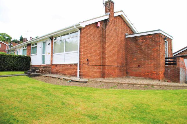 Thumbnail Semi-detached bungalow to rent in Hunstanton Court, Gateshead