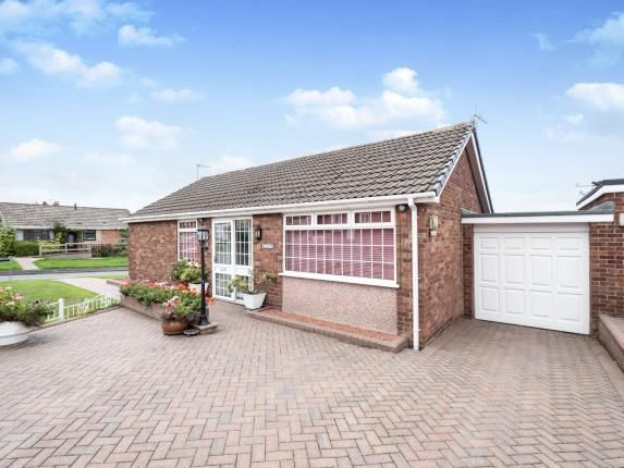 Thumbnail Bungalow for sale in Fir Tree Crescent, Dukinfield, Greater Manchester, United Kingdom