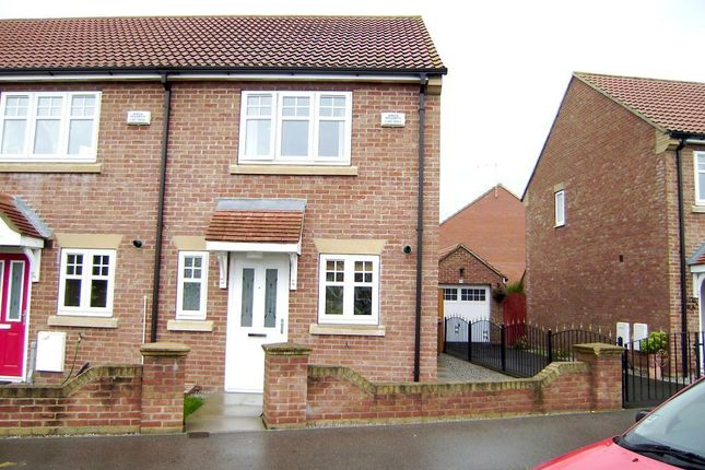 Thumbnail End terrace house to rent in Cromwell Road, Leaf Sail Farm, Hedon