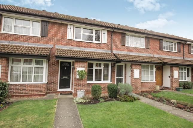 Thumbnail Terraced house for sale in Addlestone, Surrey