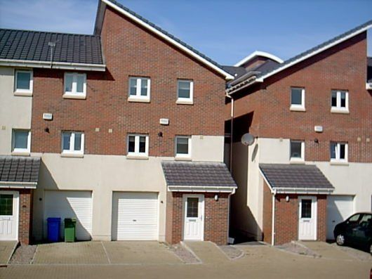 Thumbnail Town house to rent in Inkerman Court, Ayr
