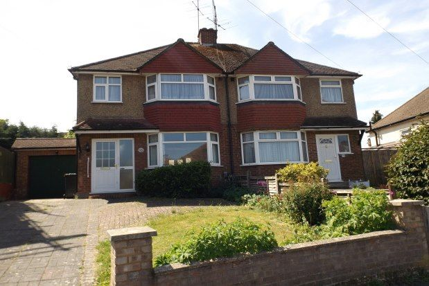 3 bed semi-detached house to rent in Bramblys Drive, Basingstoke RG21