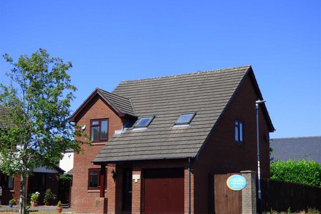 Thumbnail Detached house for sale in Mounton Close, Chepstow