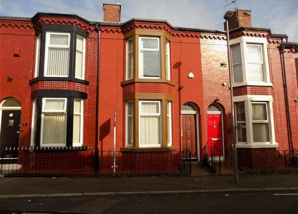 Thumbnail End terrace house to rent in Cameron Street, Kensington, Liverpool