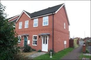 Thumbnail Terraced house to rent in Breda Court, Spalding