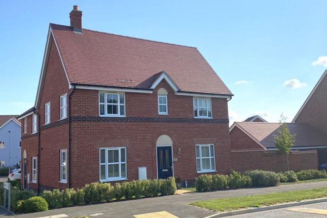 Thumbnail Semi-detached house for sale in Stowmarket, Suffolk