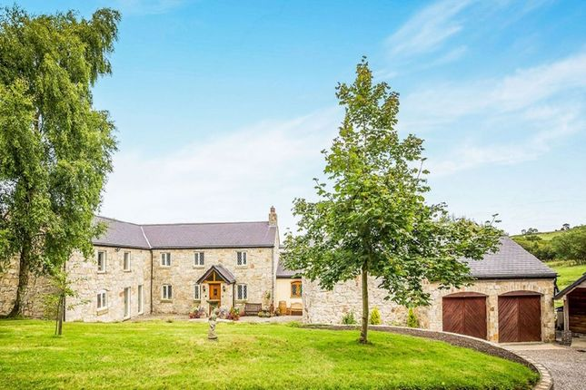 Thumbnail Detached house for sale in Abertairnant Rhydtalog Road, Graianrhyd, Mold
