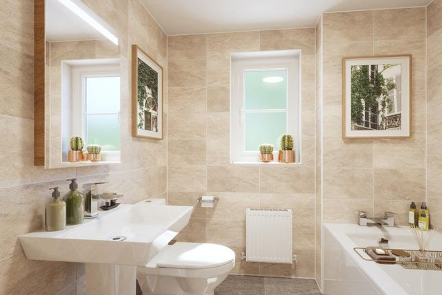 Bathroom In The Denby 3 Bed Home