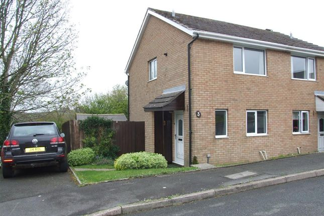 Thumbnail Semi-detached house to rent in Milton Close, Priory Park, Haverfordwest
