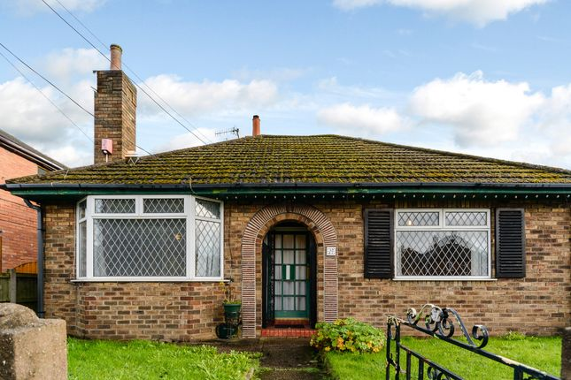 Thumbnail Detached bungalow for sale in Church Road, Stoke-On-Trent, Staffordshire