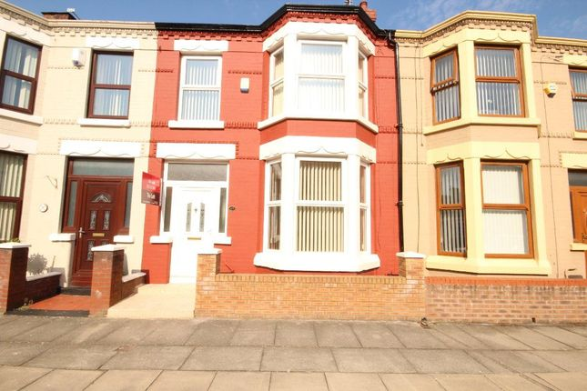 Thumbnail Terraced house to rent in Monville Road, Walton, Liverpool