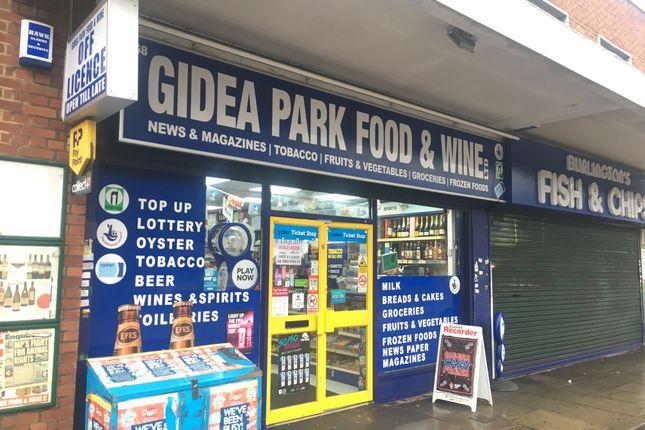 Thumbnail Retail premises for sale in 168 Main Road, Romford