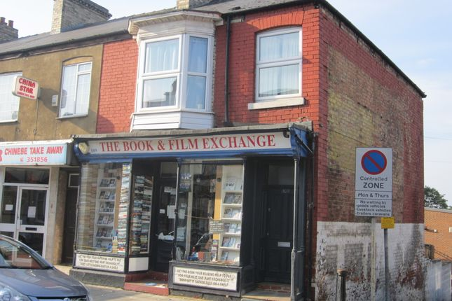 Thumbnail Retail premises for sale in Victoria Road, Darlington