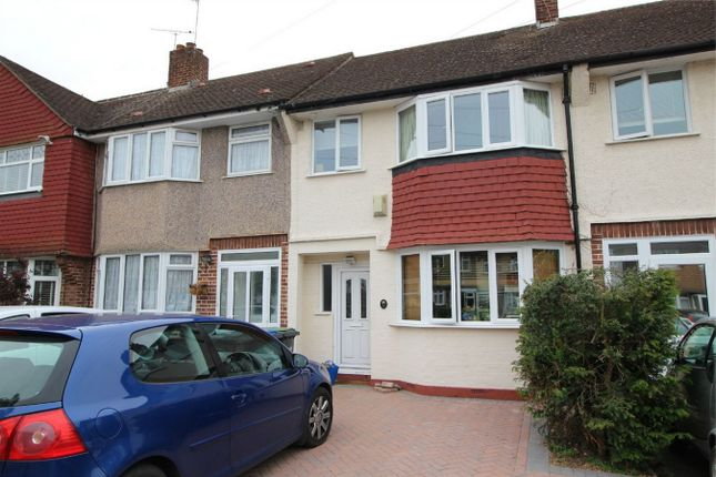 Thumbnail Terraced house for sale in Kenilworth Crescent, Enfield, Middlesex