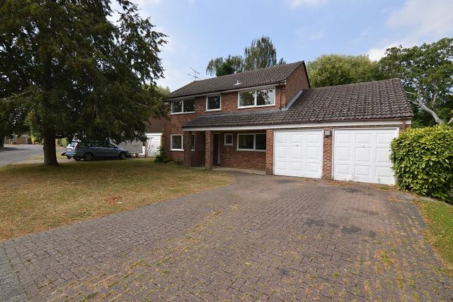 Thumbnail Detached house to rent in Annesley Gardens, Winnersh, Berkshire