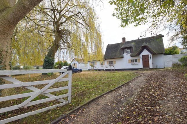 Thumbnail Cottage for sale in Blacksmiths Lane, Abbotsley, St. Neots