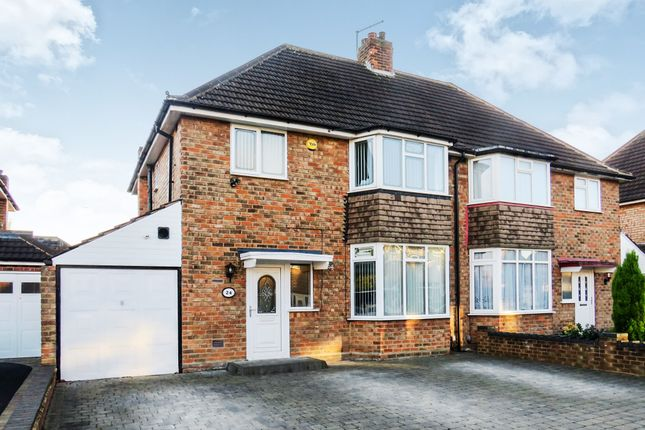 Thumbnail Semi-detached house for sale in Clayton Drive, Birmingham