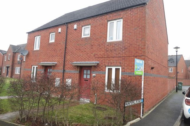 Thumbnail Semi-detached house to rent in Huntspill Road, West Timperley, Altrincham