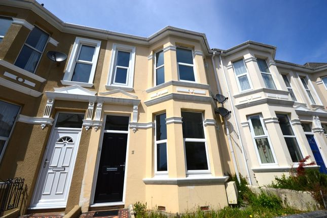 Thumbnail Flat to rent in Old Park Road, Plymouth