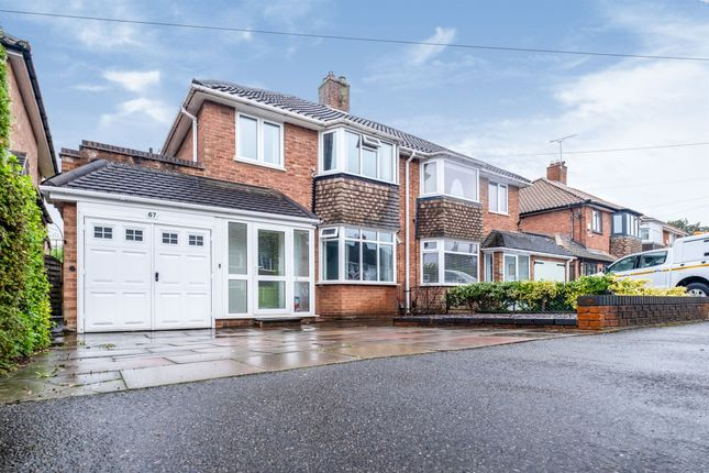 Thumbnail Semi-detached house for sale in Rowlands Crescent, Solihull