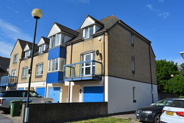 Thumbnail Town house for sale in Atlantic Close, Ocean Village, Southampton