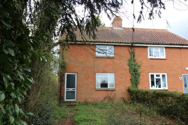 2 bed semi-detached house for sale in 5 Townsfield Cottages, Laxfield Road, Dennington, Woodbridge, Suffolk IP13
