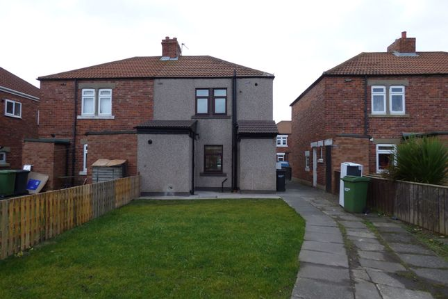 Thumbnail Terraced house to rent in Church Avenue, West Sleekburn, Choppington