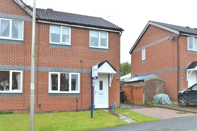 Front Three of Glenview Road, Tyldesley, Manchester M29