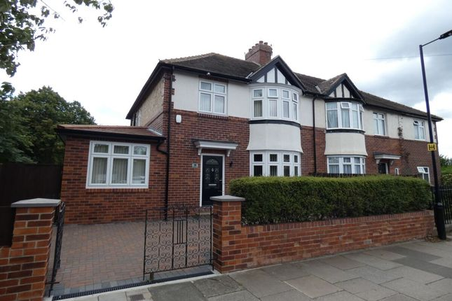 Thumbnail Semi-detached house to rent in Broadway East, Gosforth, Newcastle Upon Tyne