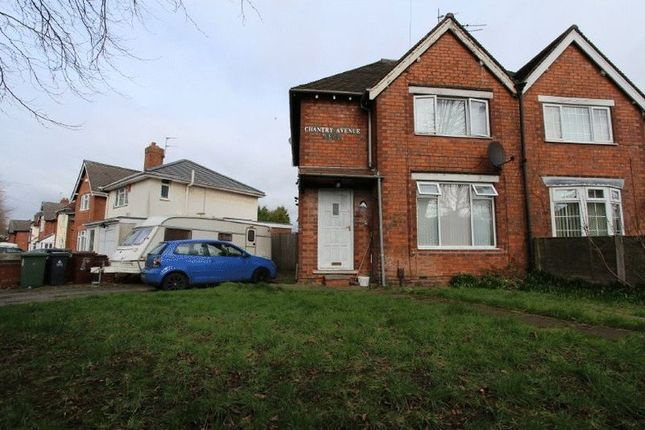 Thumbnail Semi-detached house to rent in Chantry Avenue, Bloxwich, Walsall