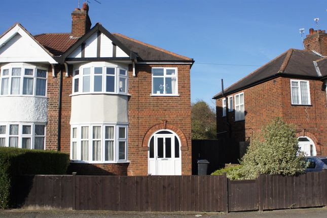 Thumbnail Semi-detached house for sale in Petworth Drive, Western Park, Leicester