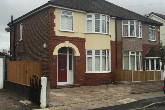 Thumbnail Semi-detached house for sale in Sefton Drive, Aintree Village, Liverpool