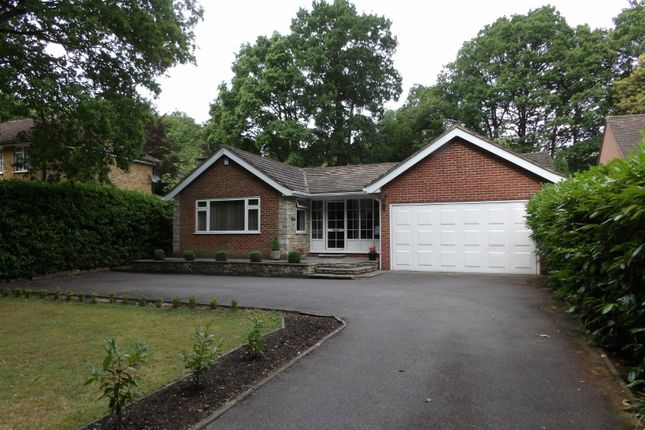 Thumbnail Bungalow for sale in Reading Road North, Fleet, Hampshire