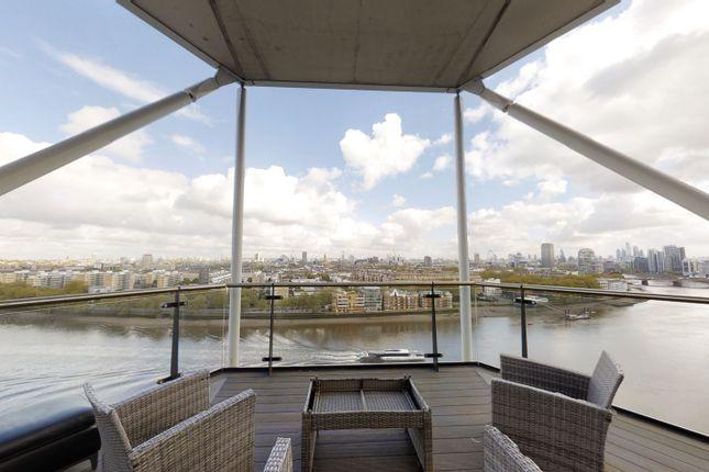 3 bed flat to rent in Three Riverlight Quay, Nine Elms, London SW11