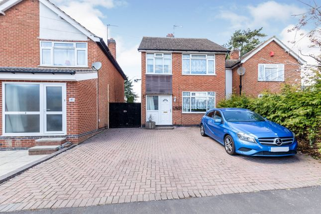 3 bed link-detached house for sale in Somerby Drive, Oadby, Leicester LE2