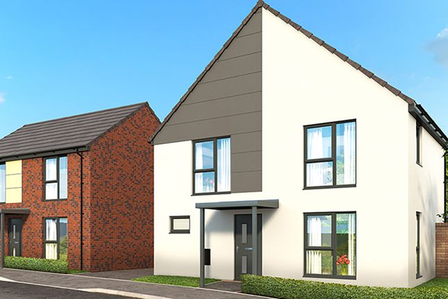"Thumbnail Property for sale in ""The Fontanne"" at Campsall Road, Askern, Doncaster"