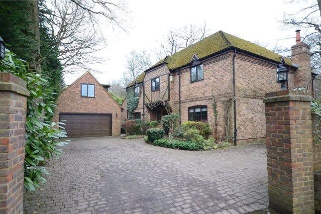 Thumbnail Detached house for sale in Roundabout Lane, Winnersh, Wokingham