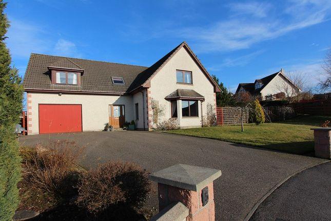 Thumbnail Detached house for sale in 5 Cononbrae Close, Conon Bridge, Dingwall