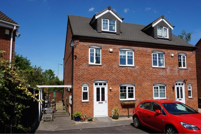 Thumbnail End terrace house for sale in Livingstone Drive, Lichfield