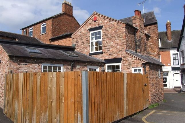 Thumbnail Cottage to rent in Pillory Street, Nantwich, Cheshire