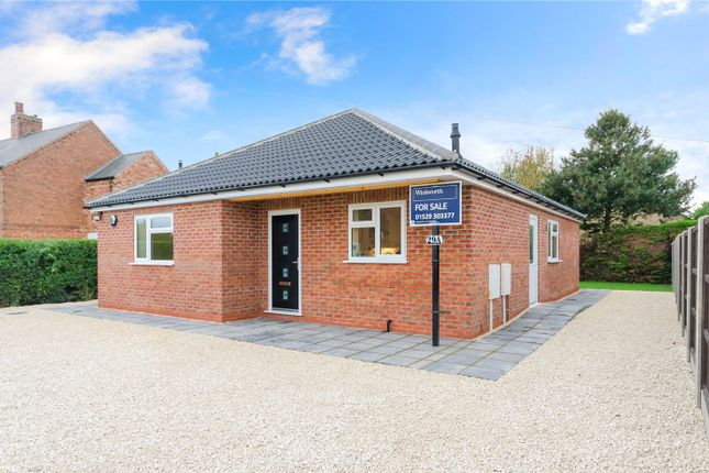 Thumbnail Detached bungalow for sale in Leas Road, Great Hale, Sleaford, Lincolnshire