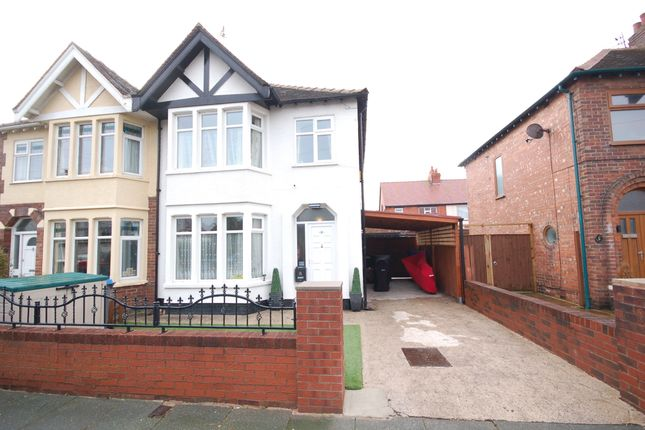 Thumbnail Semi-detached house for sale in Cheddar Avenue, Blackpool