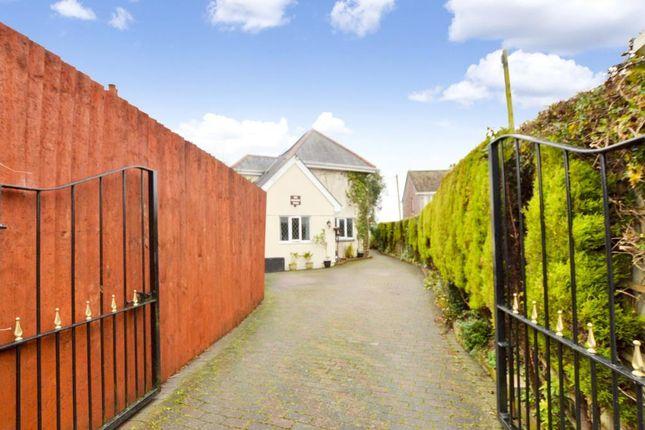 Thumbnail Detached house for sale in Liskeard Road, Saltash, Cornwall