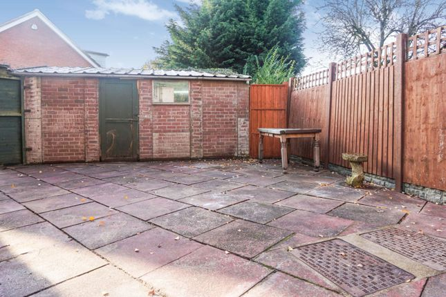 Garden of Southam Close, Birmingham B28