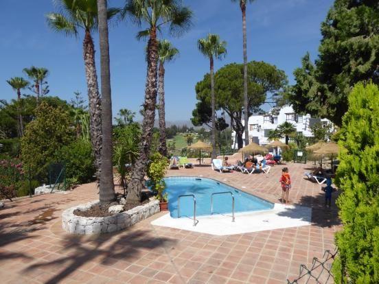 2 Swimming Pools of Mijas Costa, Costa Del Sol, Andalusia, Spain