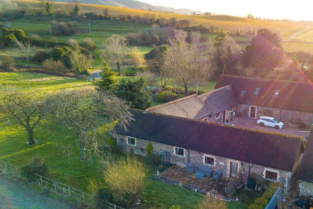 # Aerial Rear-2 of West Barn, Great Cossington Farm, Aylesford ME20