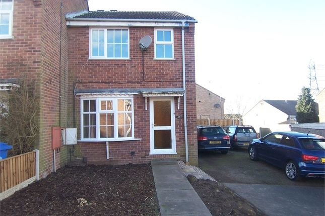 Thumbnail End terrace house to rent in Maple Close, Forest Town, Mansfield, Nottinghamshire
