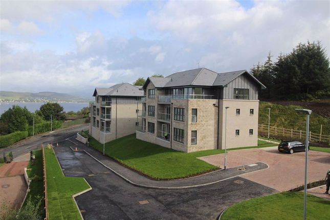 Thumbnail Flat for sale in Cowal View, Gourock