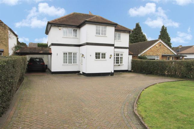 Thumbnail Detached house for sale in Thornhill Road, Ickenham
