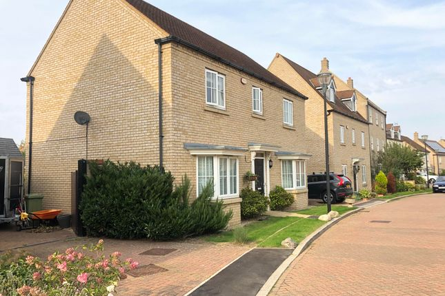 Thumbnail Detached house to rent in Lockwood Chase, Oxley Park, Milton Keynes